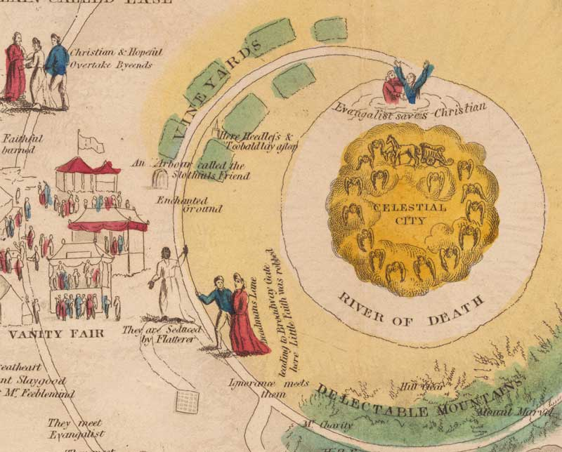 Map to the Celestial City, detail
