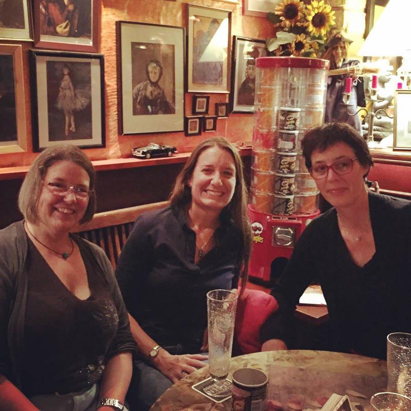 Christine, Krista, and Andrea in Stuttgart