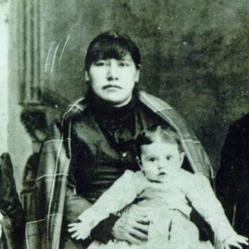 Native American Great-Great-Grandma White
