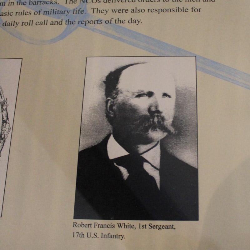Robert Francis White Fort Sisseton South Dakota