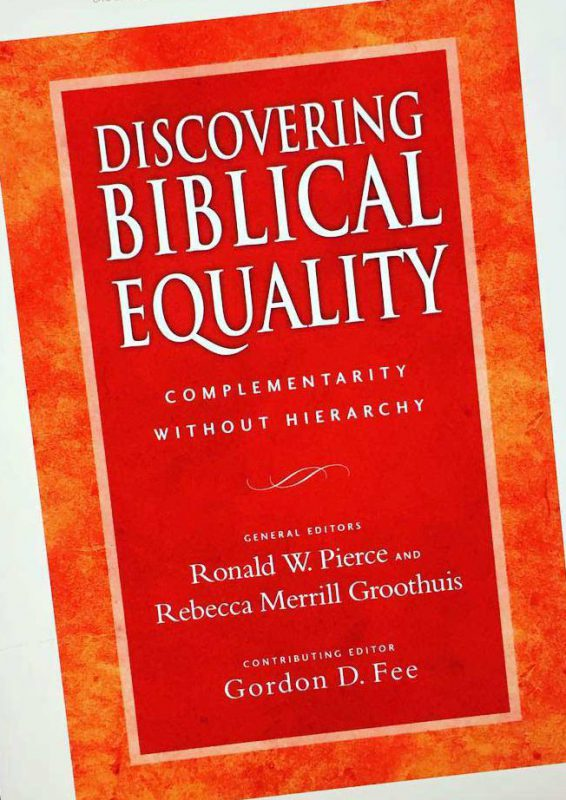 Discovering Biblical Equality book cover