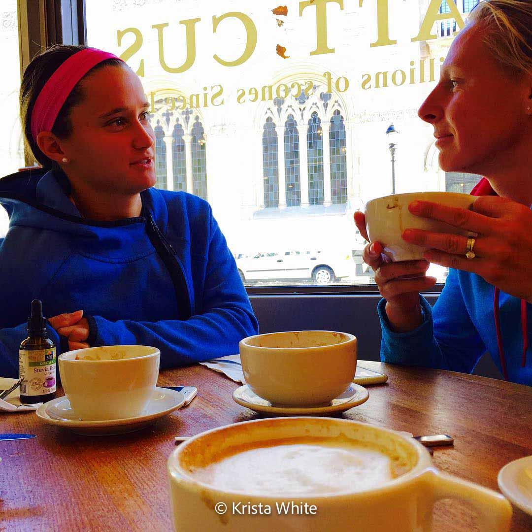 Liga and Lauren